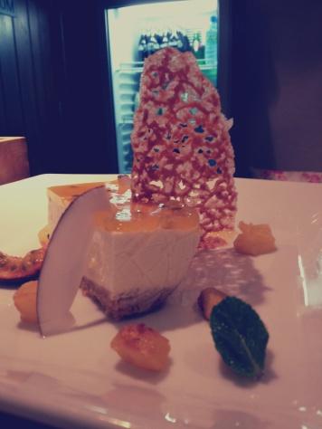 coconut cheese cake