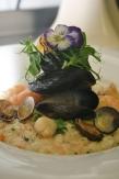 Shellfish risotto